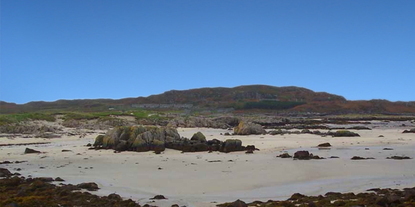 fidden beach ross of mull