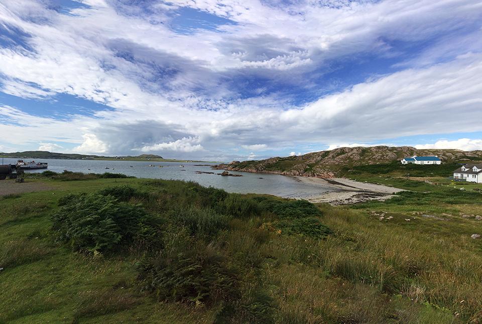 Fionnphort Towards Iona
