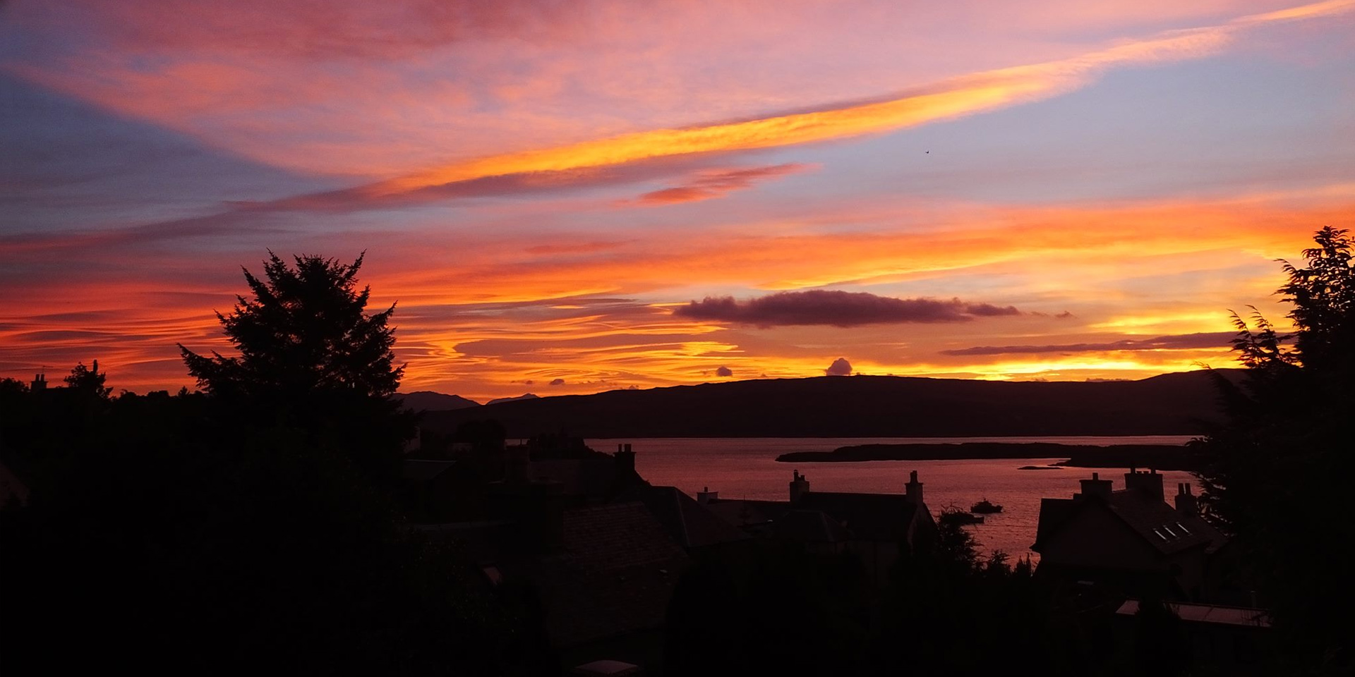 Tobermory sunset